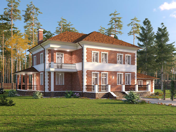 Мирабель_299 кв.м.:  в . Автор – Vesco Construction