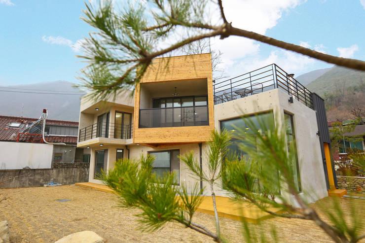 우리가족에게 전원주택이란, : 한글주택(주)의  주택