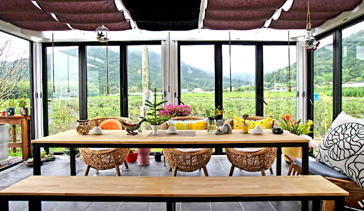 Dining room by 엔디하임 - ndhaim