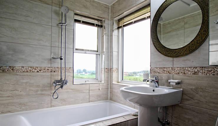 내부 인테리어 - 욕실: 엔디하임 - ndhaim의  욕실