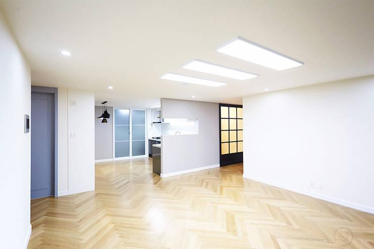 제이앤예림design: klasik tarz tarz Oturma Odası