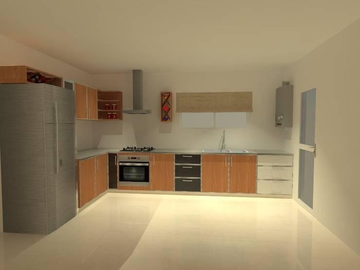 Propuesta inicial: Cocinas de estilo  por ER Design.    @eugeriveraERdesign