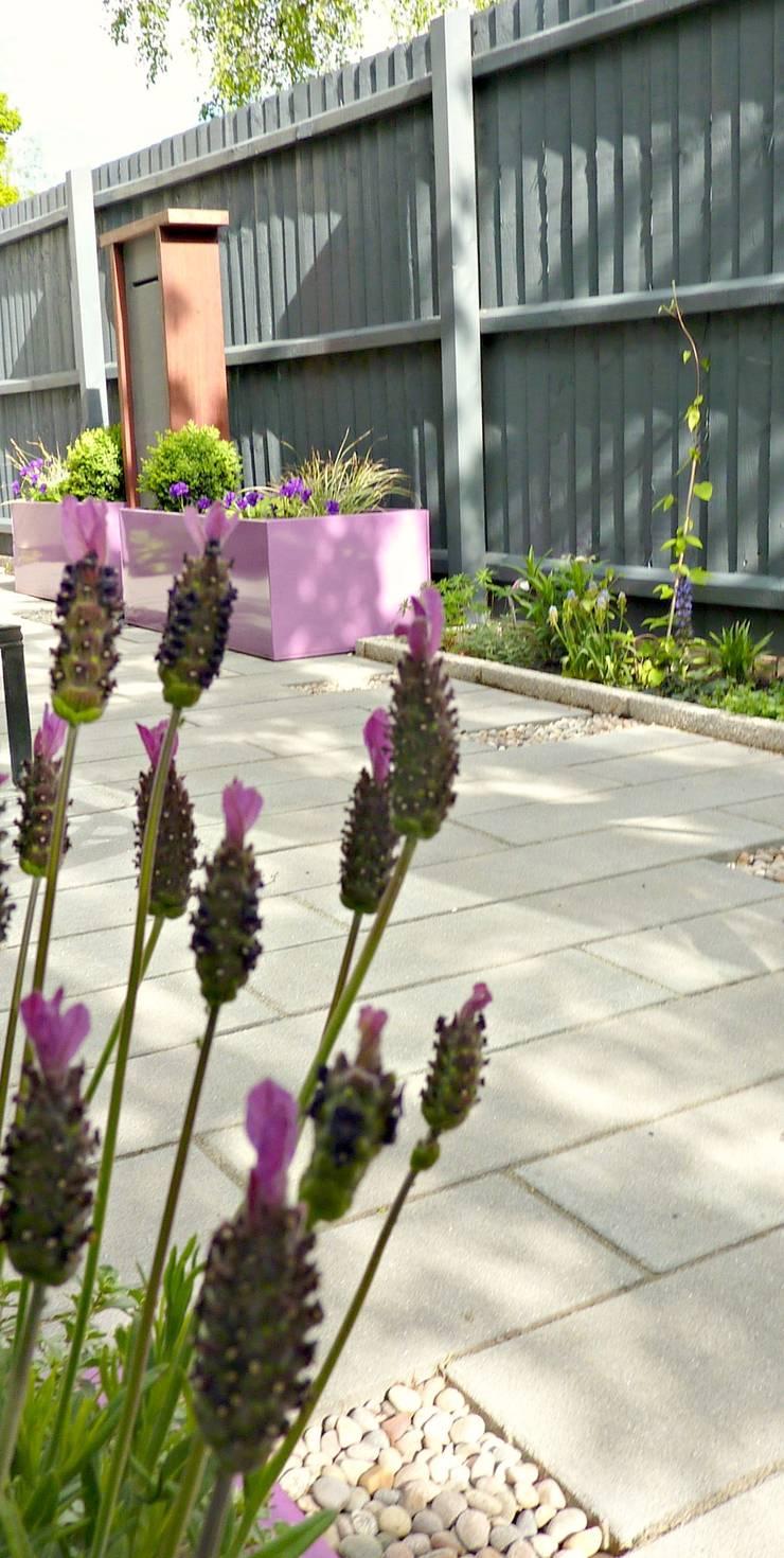 Vườn theo Gardenplan Design, Hiện đại