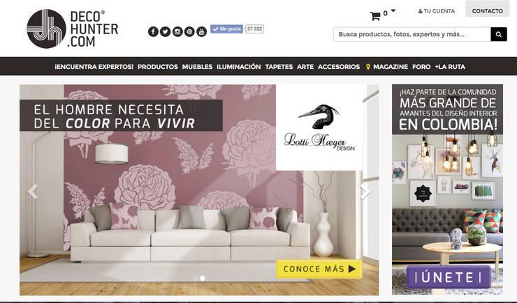 Decohunter.com: Salas de estilo  por Decohunter.com