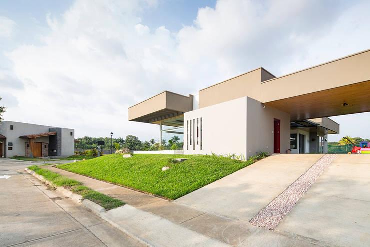 Casas modernas por J-M arquitectura