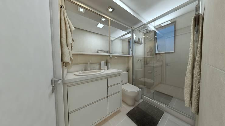 Débora Pagani Arquitetura de Interiores의  욕실