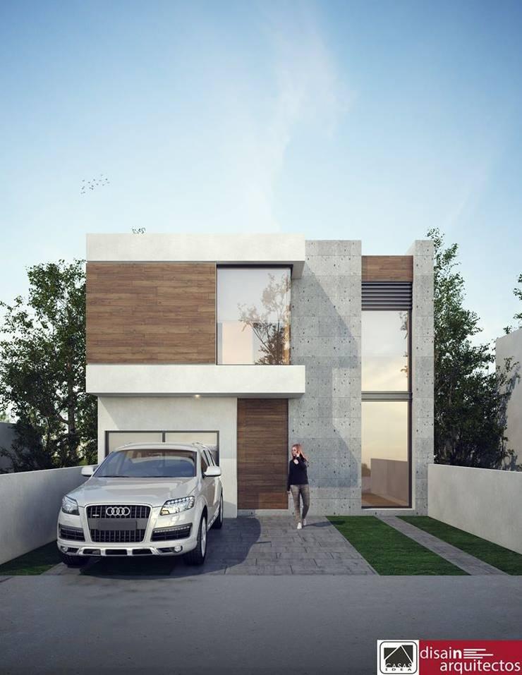 Modelo 2N STIRI: Casas de estilo  por disain arquitectos