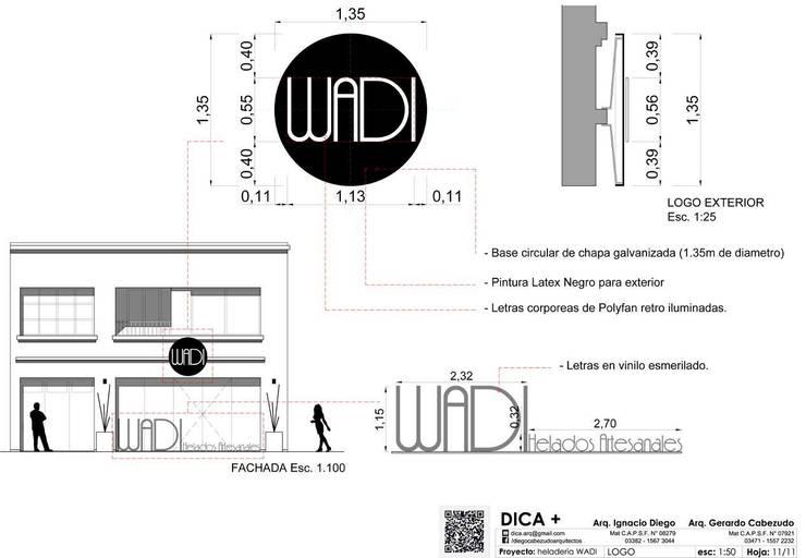 Proyecto WADI:  de estilo  por DICA +,