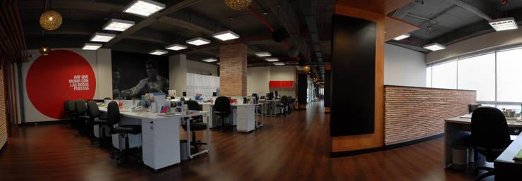 Oficinas Proximity: Oficinas y tiendas de estilo  por Arquitectura Visual