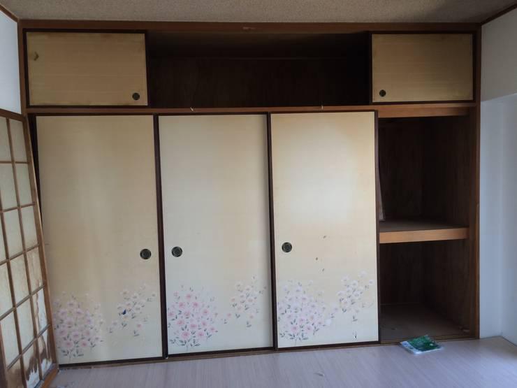 6畳和室 | 工事前: FRCHIS,WORKSが手掛けた和室です。