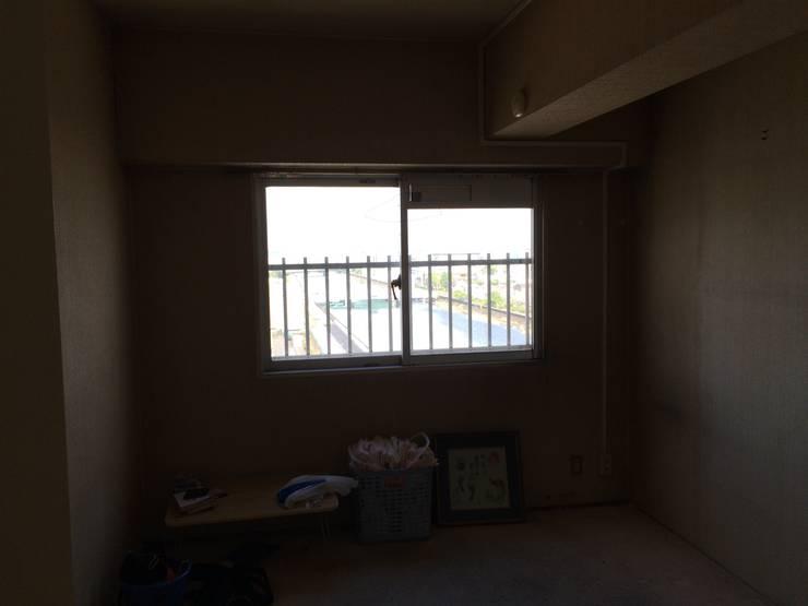 6帖洋室 | 工事前: FRCHIS,WORKSが手掛けた子供部屋です。