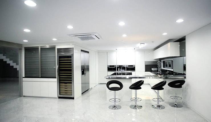 Modern Yemek Odası 엔디하임 - ndhaim Modern