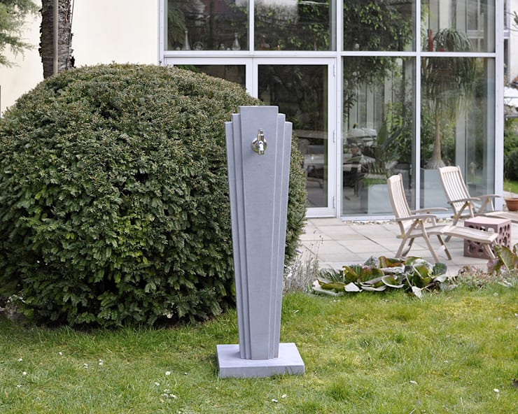 Gartenwassersaulen Von Oggi Beton Homify