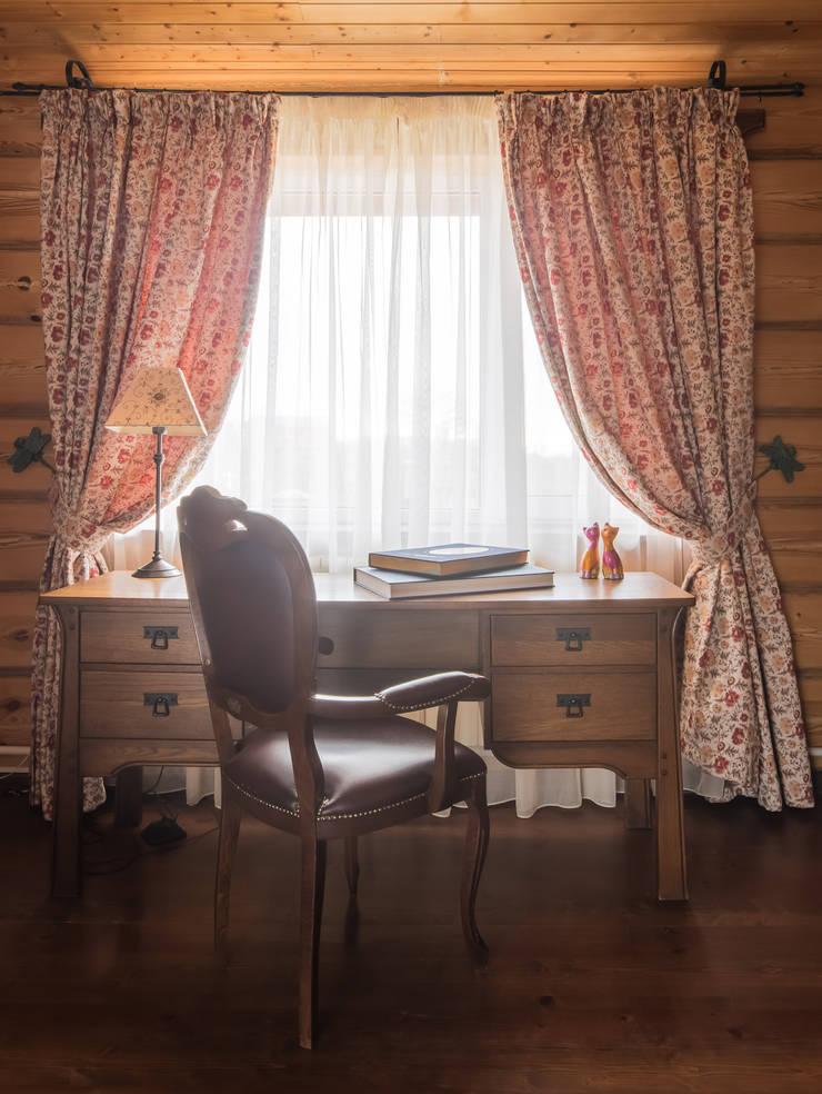 Русское кантри: Рабочие кабинеты в . Автор – Анастасия Муравьева,