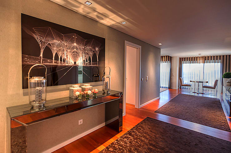 Fotografia de Interiores & Decoração : Corredor, hall e escadas  por ARKHY PHOTO