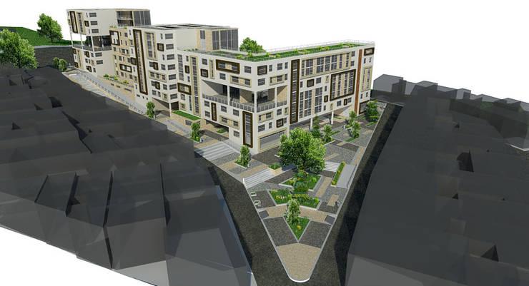 Proyecto San Blas de los cerros : Casas de estilo  por JELKH Design Architects s.a.s