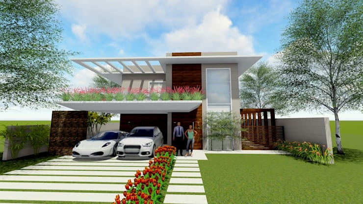Casas de estilo  de Studio², Moderno