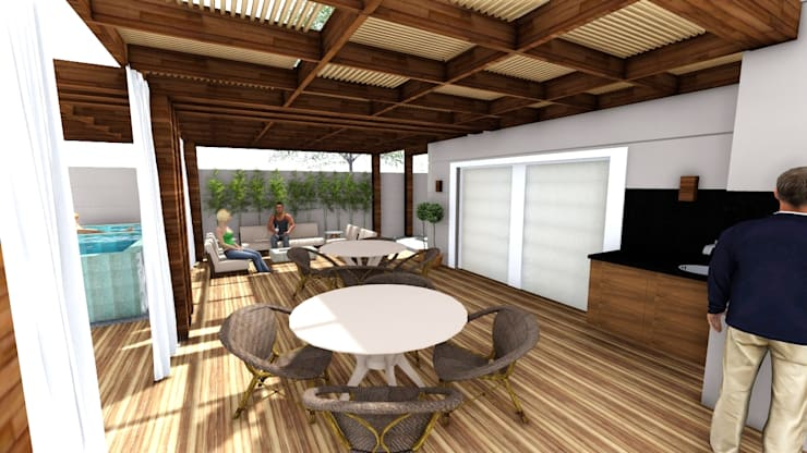 Terrazas de estilo  de Studio², Moderno
