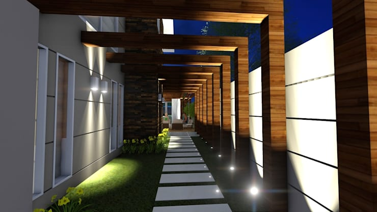 Residência Contemporânea: Casas  por Studio²
