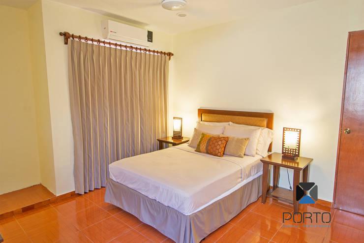 Dormitorios de estilo colonial de PORTO Arquitectura + Diseño de Interiores