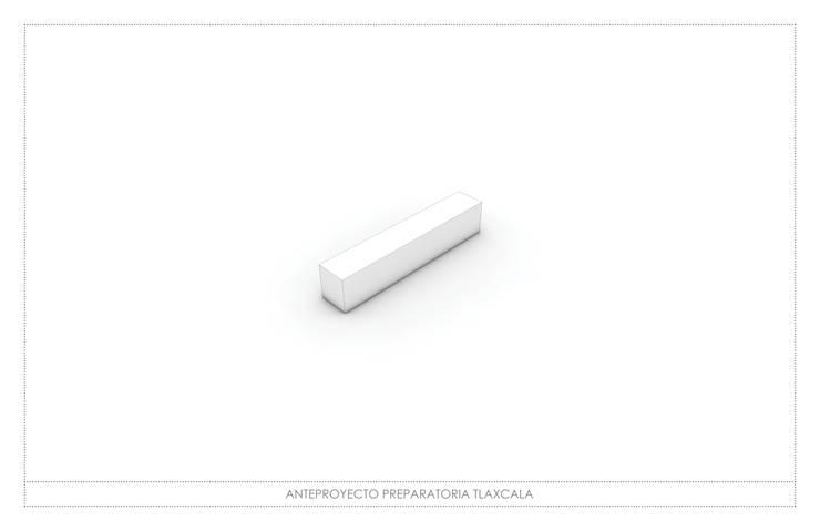 ESCUELA PREPARATORIA:  de estilo  por gOO Arquitectos