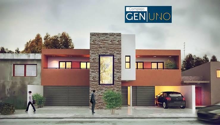Complejo Gen.Uno:  de estilo  por David Veglia