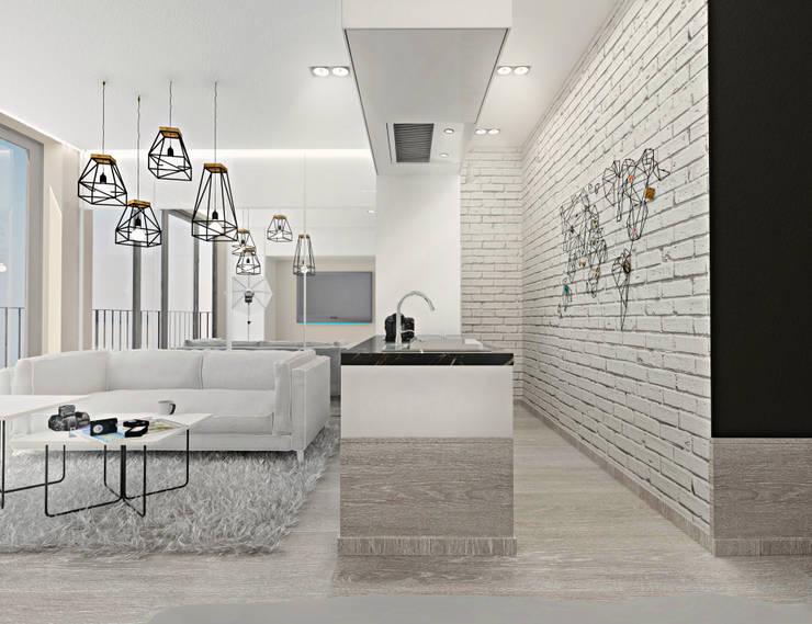 Kat_01: styl , w kategorii Kuchnia zaprojektowany przez InSign Pracownia Projektowa Karolina Wójcik