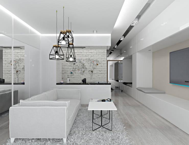 Kat_01: styl , w kategorii Salon zaprojektowany przez InSign Pracownia Projektowa Karolina Wójcik