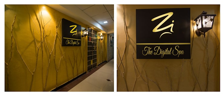 entrance :  Commercial Spaces by Ishita Joshi Designs - Love Living!,Modern