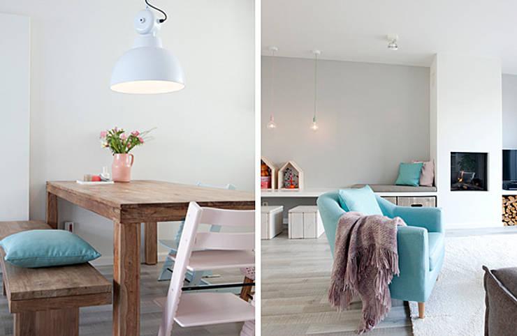 Wohnzimmer im Landhausstil von Interieur Design by Nicole & Fleur Landhaus