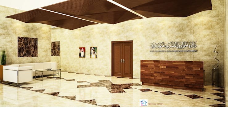 TRAINING INSTITUTE RECEPTION:   by SHEEVIA  INTERIOR CONCEPTS