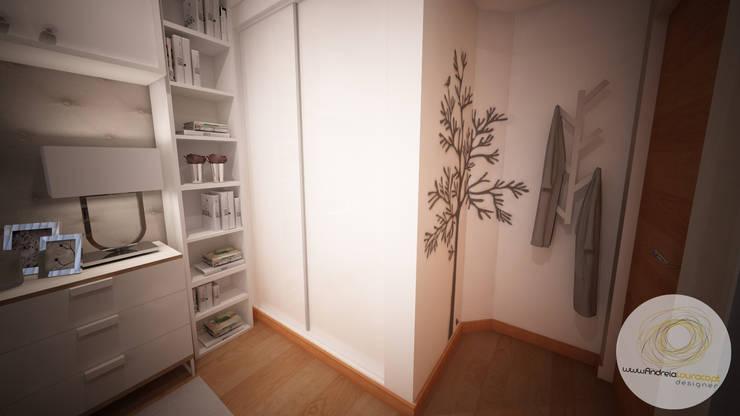 Cuartos de estilo  por Andreia Louraço - Designer de Interiores (Contacto: atelier.andreialouraco@gmail.com)