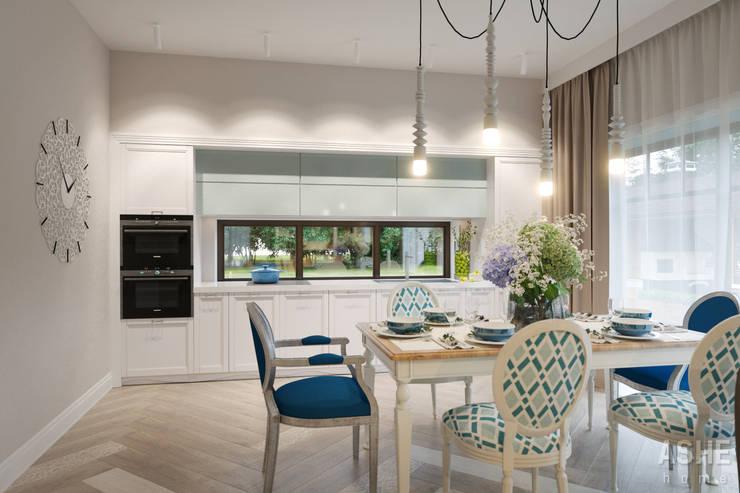Дизайн интерьера коттеджа: Кухни в . Автор – Студия авторского дизайна ASHE Home