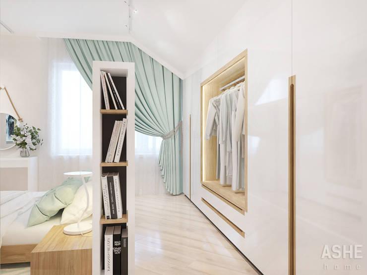 Dormitorios de estilo ecléctico de Студия авторского дизайна ASHE Home