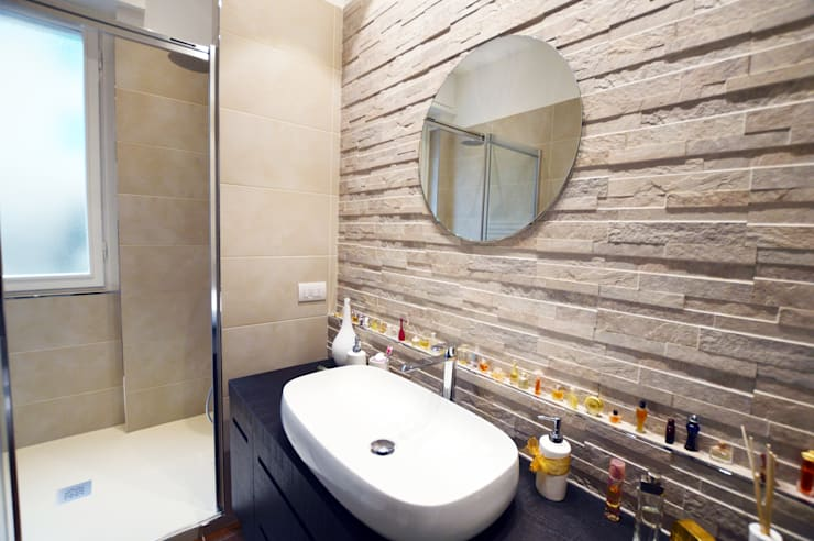 Appartamento privato Vimercate: Bagno in stile  di SLP arch