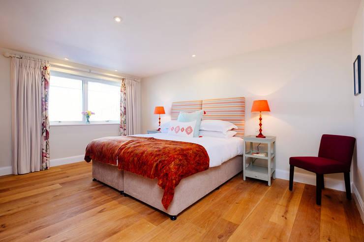 Tregoose, Polzeath:  Bedroom by The Bazeley Partnership