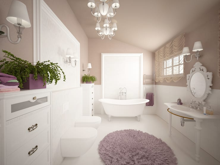classic Bathroom by Ал