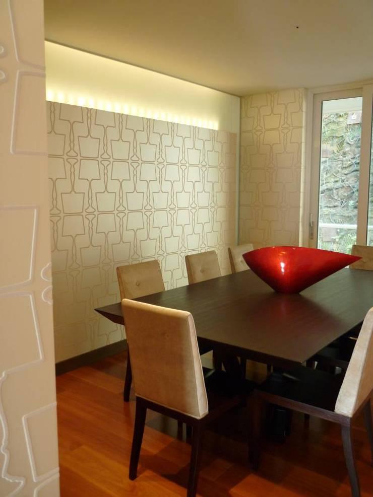 APTO 705 Peñas Blancas: Comedores de estilo moderno por 57uno Arquitectura
