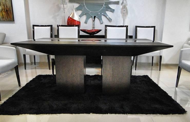 Ejemplos de decoración: Comedores de estilo moderno por DISEÑO INTERIOR LTDA
