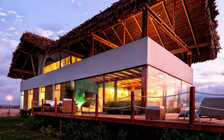 Casas de estilo  de YUPANA Arquitectos
