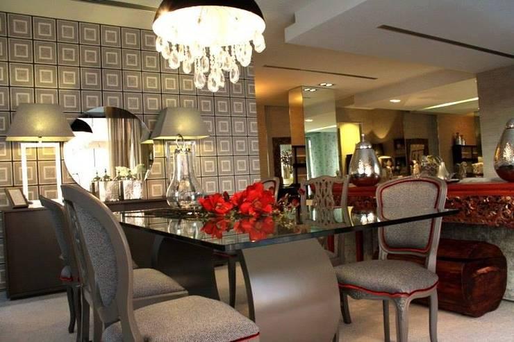 Carla Baptista: Salas de jantar  por Carla Batista Interiores,Moderno