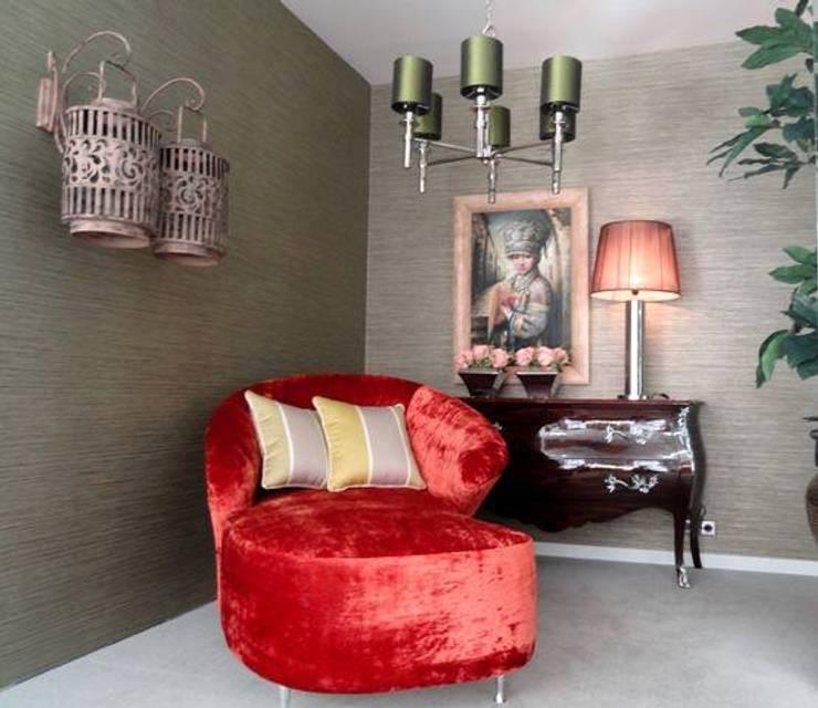 Carla Baptista: Salas de estar  por Carla Batista Interiores,Moderno