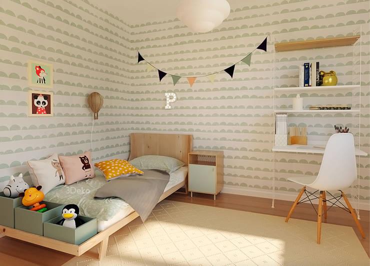 Habitación infantil: Recámaras infantiles de estilo  por 3Deko