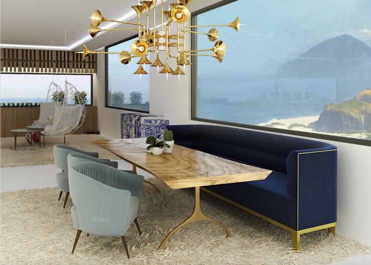 3D living room: Salas de estilo  por 3Deko