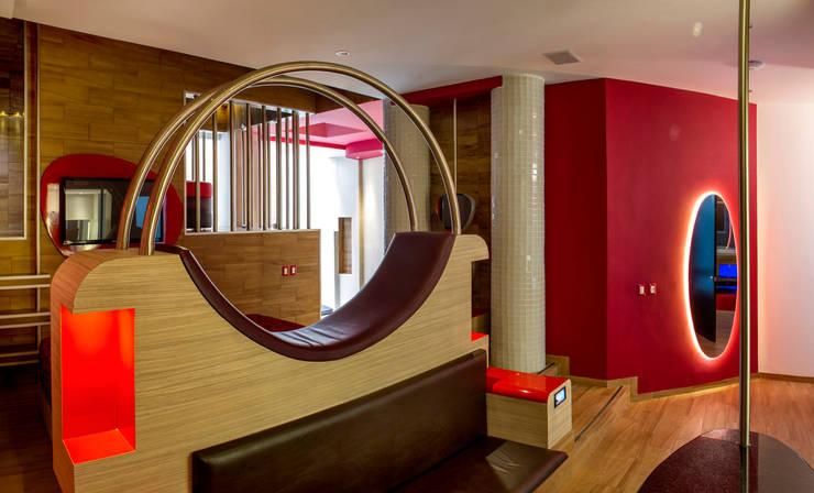 Hotel Centra 2 Dormitorios modernos de DIN Interiorismo Moderno