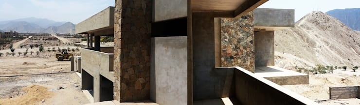[Casa Gruya]: Casas de estilo  por DAS MAB,