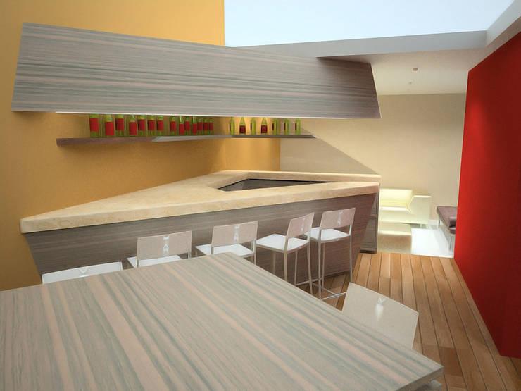 Casa Luju : Comedores de estilo  por DIN Interiorismo
