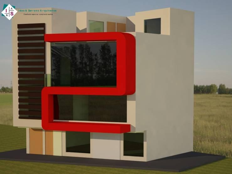 Casa Vargas: Casas de estilo  por ISLAS & SERRANO ARQUITECTOS