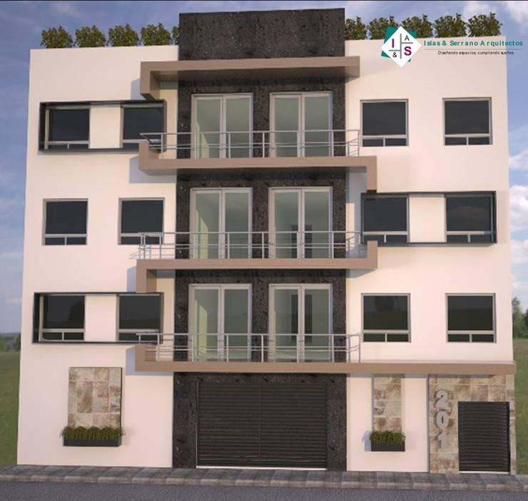 Condominio JK: Casas de estilo  por ISLAS & SERRANO ARQUITECTOS