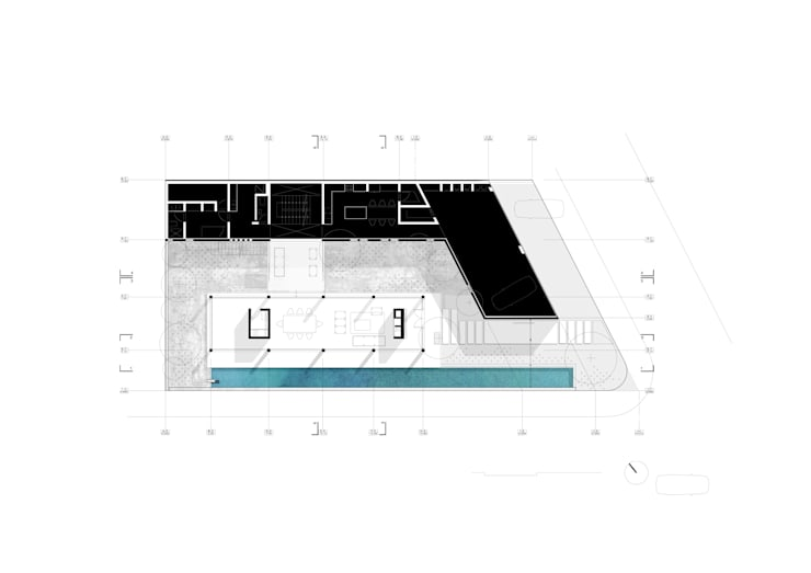 CASA RODEADA:  de estilo  por NIKOLAS BRICEÑO arquitecto